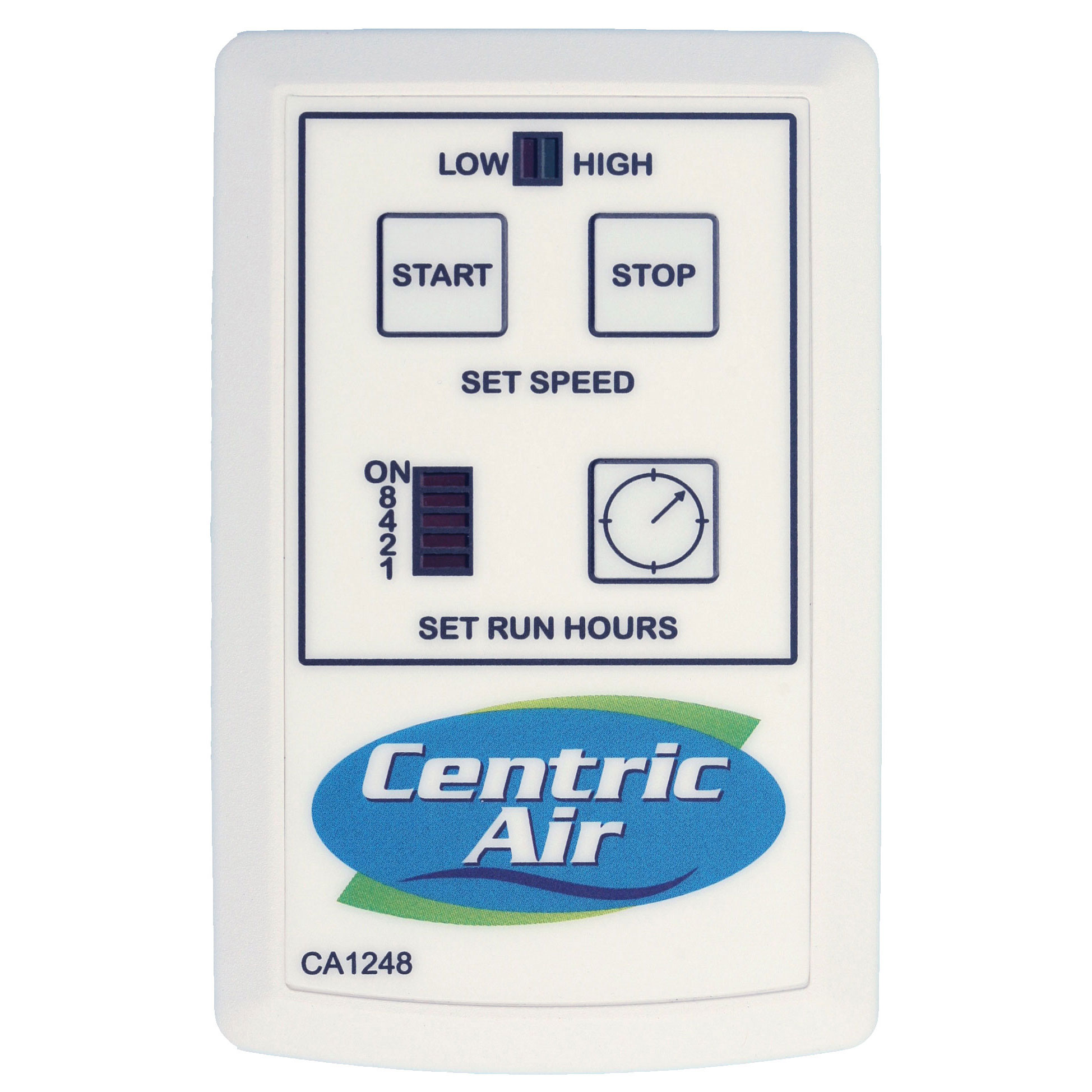 whole house fan two speed remote control with timer