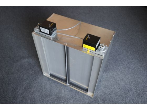 Insulated Damper Box Centricair Whole House Fans