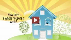 Learn how a Whole House Fan works.