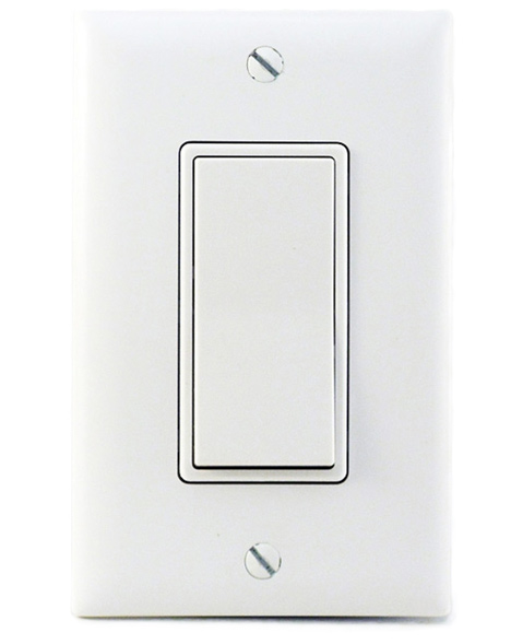 Photo of a Two-Speed Wall Switch