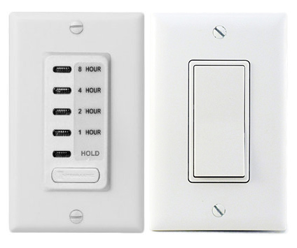Two-Speed Wall Switch & Timer