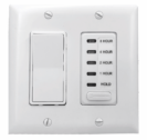 Two-Speed Wall Switch & Timer for QA-Deluxe Fans
