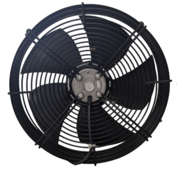 A photo of the back of the Centric Ari Attic Fan